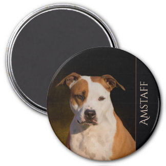 American Staffordshire Terrier Fridge Magnet