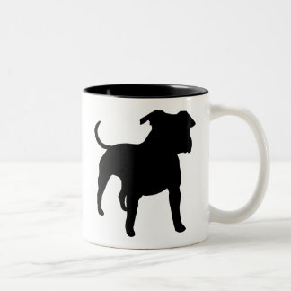 American Staffordshire Terrier Gear Two-Tone Coffee Mug