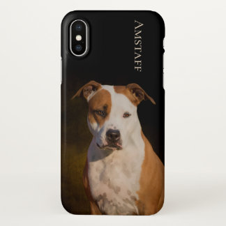 American Staffordshire Terrier iPhone X Case