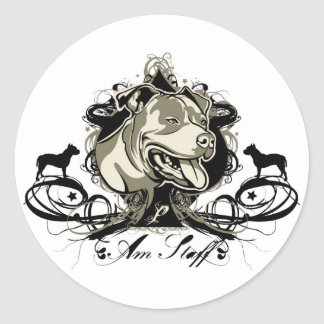 American Staffordshire Terrier Sticker