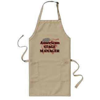 American Stage Manager Long Apron