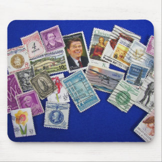 American Stamps Mouse Pad