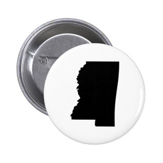 American State of Mississippi Pinback Button