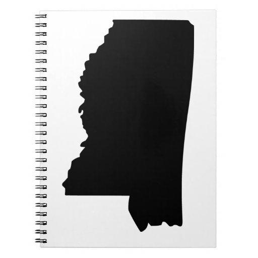 American State of Mississippi Spiral Note Book