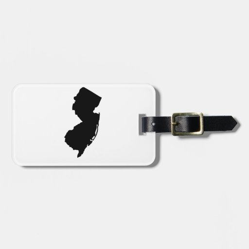 American State of New Jersey Bag Tag