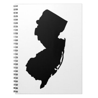 American State of New Jersey Spiral Note Book