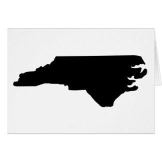 American State of North Carolina Greeting Card