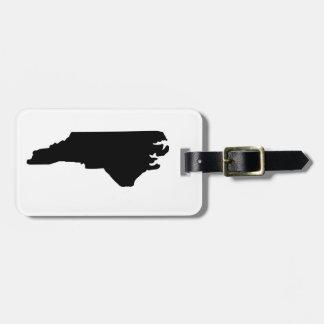 American State of North Carolina Luggage Tag