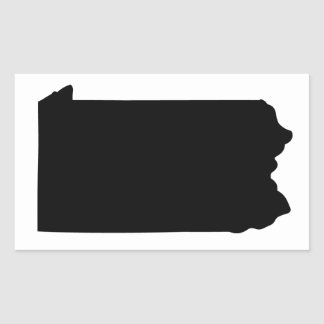 American State of Pennsylvania Rectangular Sticker