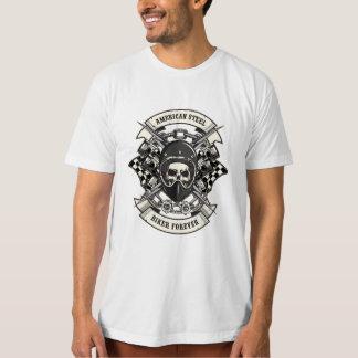 American steel biker forever T-Shirt