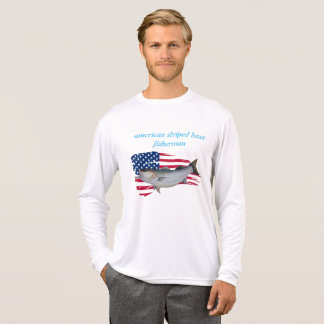 american striped bass fisherman T-Shirt