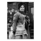 American Suffragette, 1910 Card