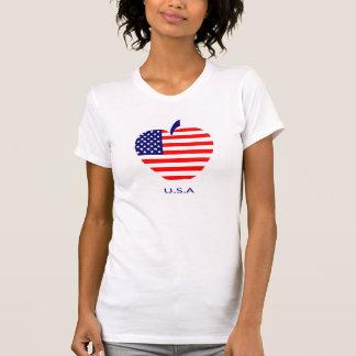 American symbol on t-shirt