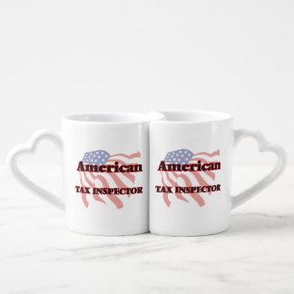 American Tax Inspector Lovers Mug Set