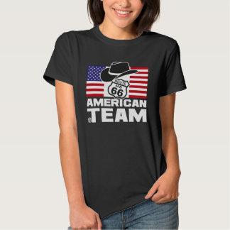American TEAM Black woman Tshirt