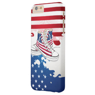 American Teens Patriotic Barely There iPhone 6 Plus Case