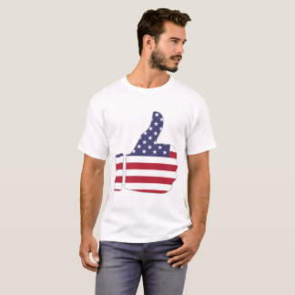 american thumbs up t-shirt