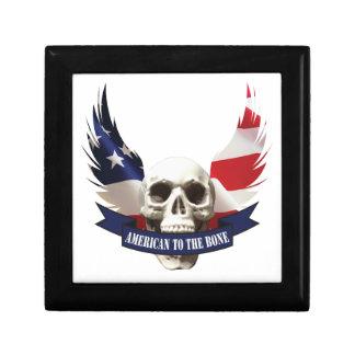 American to the Bone Skull Gift Box