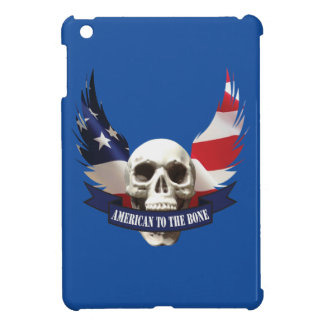 American to the Bone Skull iPad Mini Cases