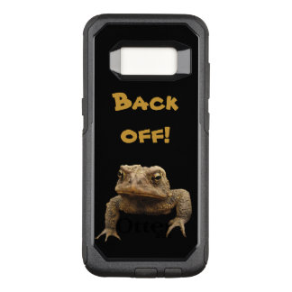 American Toad Back Off OtterBox Galaxy S8 Case