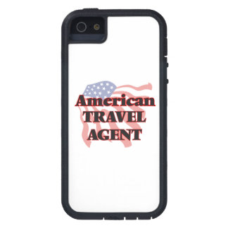 American Travel Agent Case For iPhone 5