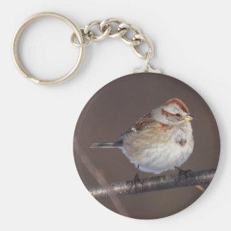 American Tree Sparrow Key Chains
