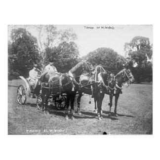 American Troika 1911 Postcard