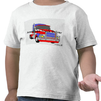 """American Truck Driver"" T Shirts"