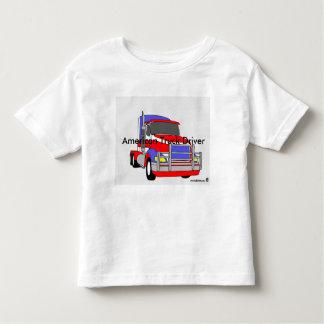 """American Truck Driver"" Tshirts"