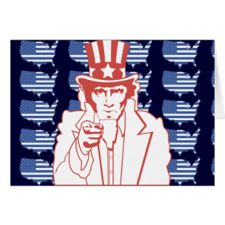 American Uncle Sam Card
