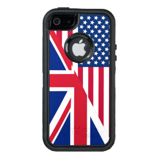 American Union Jack Flag OtterBox iPhone 5/5s/SE Case