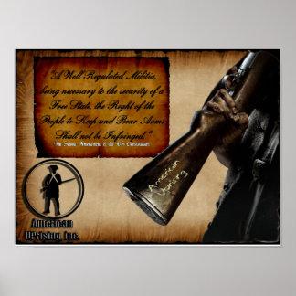 American Uprising 2nd Amendment Poster
