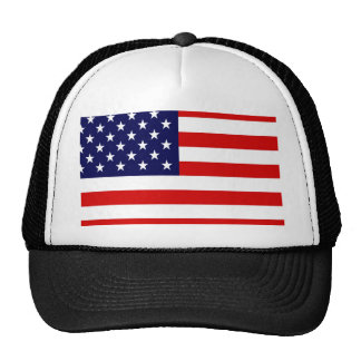 American USA Flag Mesh Hat