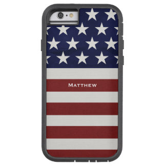 American USA Flag Patriotic July 4th Custom Tough Xtreme iPhone 6 Case