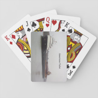 American Valor playing cards