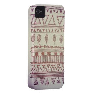 American Velvet Tribal Print iPhone 4/4s case