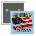 American Veteran Apparel and Gifts Pin