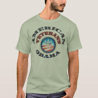 American Veterans 4 Obama T-Shirt