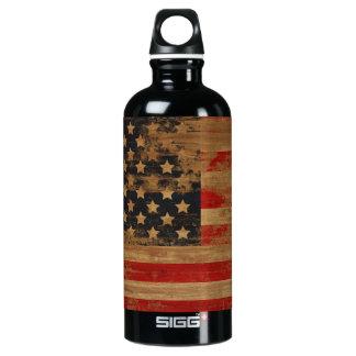 American Vintage Flag Liberty Bottle SIGG Traveller 0.6L Water Bottle