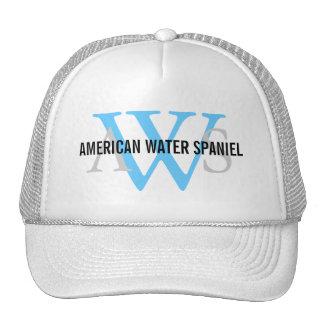 American Water Spaniel Monogram Cap