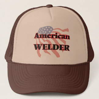 American Welder Trucker Hat