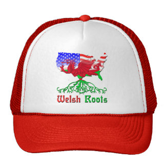 American Welsh Roots Hat