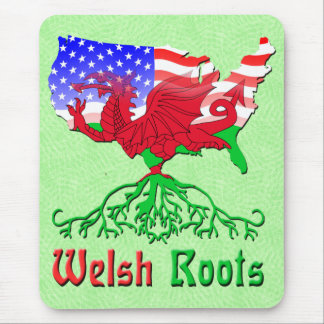 American Welsh Roots Mousemat