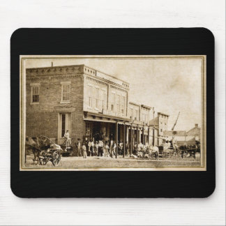 American West Street Scene 1867 Mouse Pad