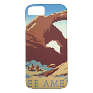 American West Travel 1939 iPhone 7 Case