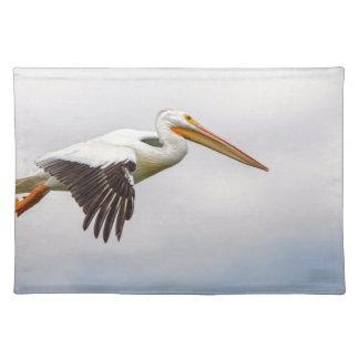 American White Pelican Cruising Placemat