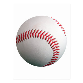 American White Single Baseball Postcard
