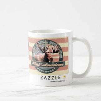 American Wildlife Moose Mug