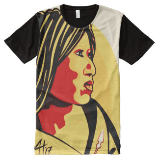 """""""American Woman"""" by Aleta All-Over Print T-Shirt"""