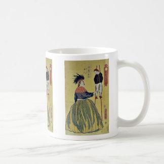 American woman by Utagawa,Yoshitora Coffee Mugs